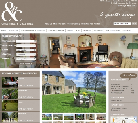 Crabtree and Crabtree Web Page